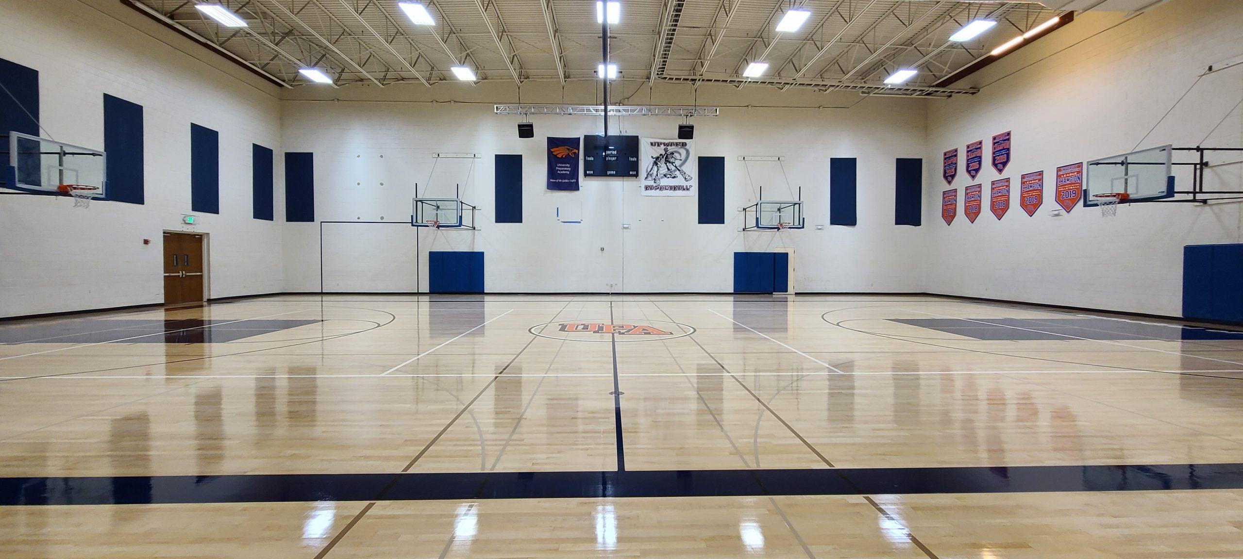 Sport Gym Hardwood Floors - San Jose Hardwood Floors